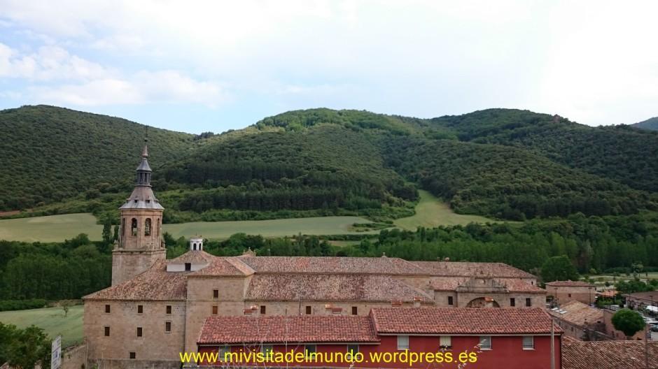 Visita al monasterio de Yuso en San Millan de la Cogolla, La Rioja