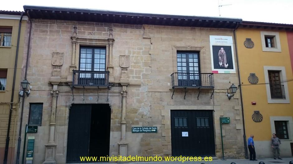 Albergue de peregrinos en San Millan de la Cogolla, La Rioja