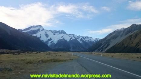 Aoraki/Mount Cook, la montaña más alta de Nueva Zelanda