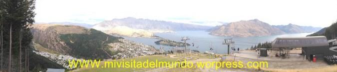 Queenstown rodeando el lago Wakatipu